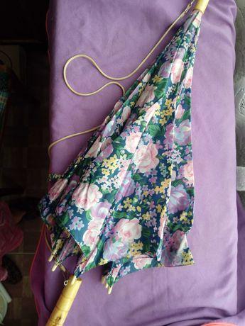 Зонт новый трость
