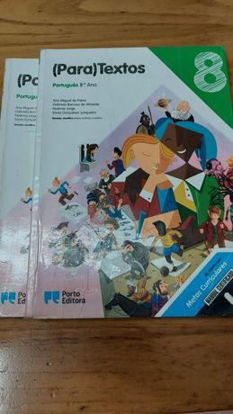 Manual e Caderno de Atividades Português (Para)Textos 8° Ano