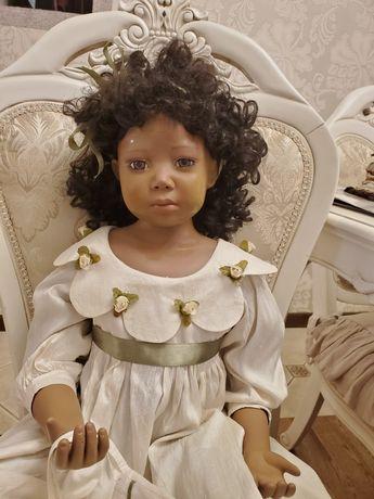 кукла коллекционная фарфоровая Кристин Оранж Christine Orange Майя
