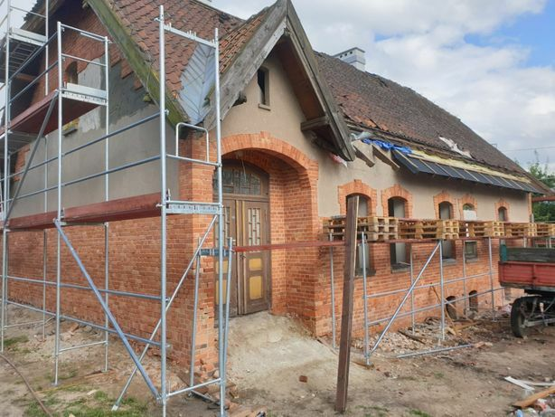 Piaskowanie Sodowanie Kompleksowe Renowacje Cegły Drewna Betonu Metalu