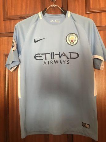 Camisola Oficial Manchester City 17/18 - Bernardo Silva