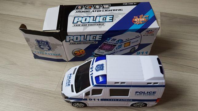 Autko City Patrol POLICJA gra i świeci NOWE