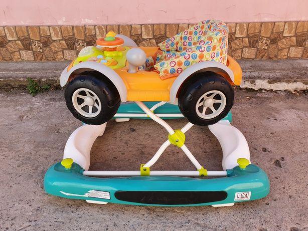 Детские ходунки машинка
