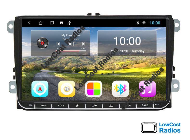 SALDOS: Rádio GPS VW • SKODA • SEAT - ANDROID - 7 e 9 Polegadas São Mamede De Infesta E Senhora Da Hora - imagem 1