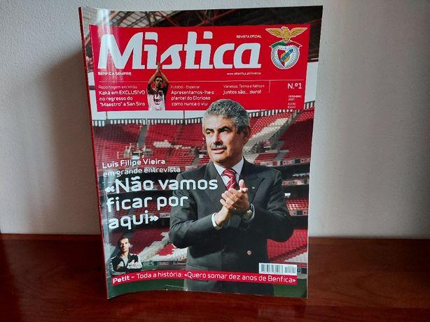 Revista Mistica (Benfica) - Coleção completa desde o nº 1 até ao nº 33