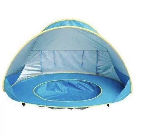 Бассейн с палаткой