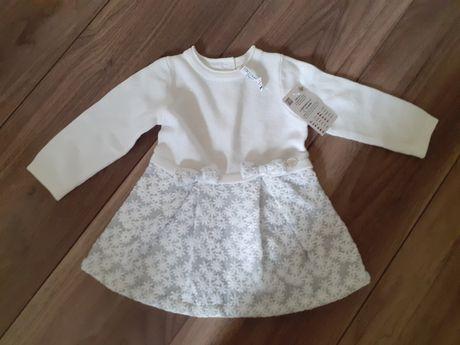 Sukienka biała cocodrillo 74