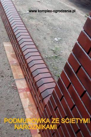 ALA KLINKIER ogrodzenie betonowe łatwe w zamontowaniu słupek murek