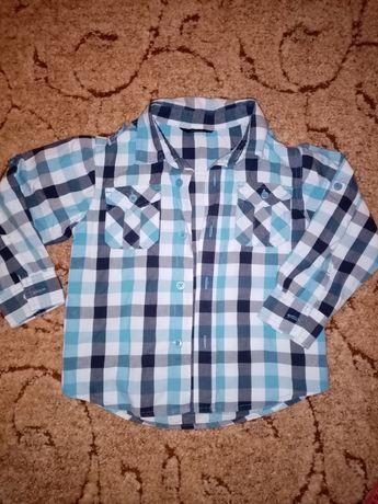 Рубашка 110 размер коттон