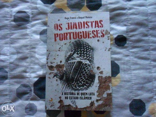 """Livro """"Os Jiadistas Portugueses"""" de Hugo Franco e Raquel Moleiro"""