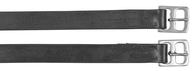 Puśliska Covalliero skórzane 145 cm czarne