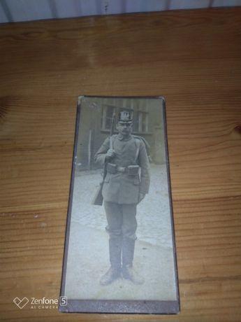 Zdjęcie żołnierza austro- węgry twarde