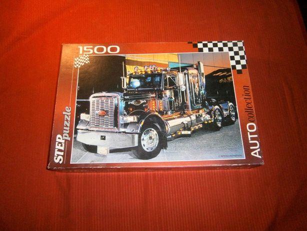 Мозайка, пазлы Step Puzzle грузовик Peterbilt 1500 штук