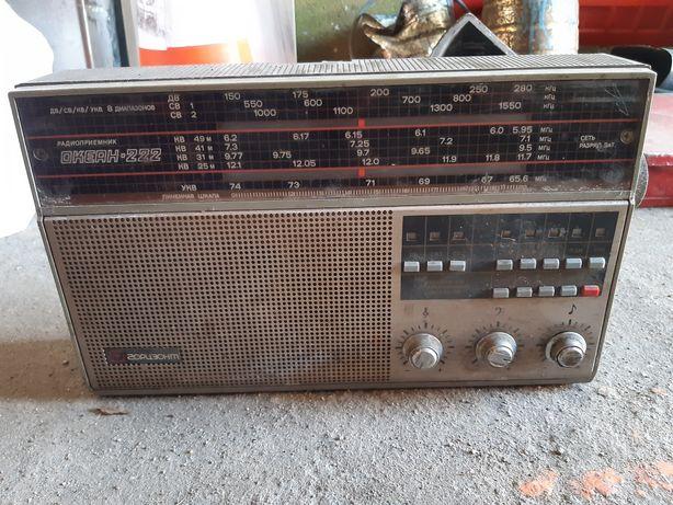 Радиоприемник СССР Океан 222