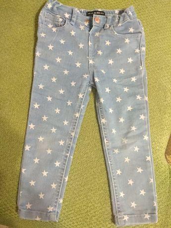 Красивые джинсы на девочку