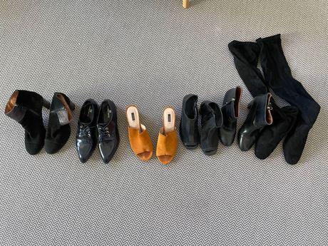 Sapatos/ botas/ botins