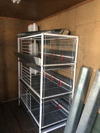 Продам нові клітки  для бройлерів