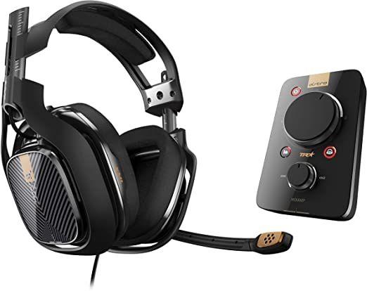 Słuchawki Astro A40 + MixAmp Pro + ModKit z pasywnym wygłuszaniem