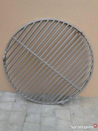 Ruszt grilowy żeliwny okrągły fi 54 cm lub prostokątny