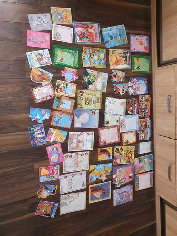 Karteczki kolekcjonerskie różne