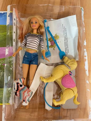 Barbie барби прогулка с питомцем ( собачкой)