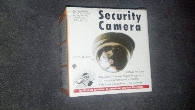 Atrapa kamery przemysłowej kamera kopułka LED