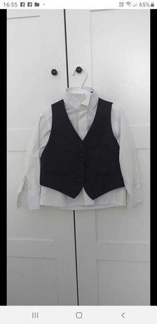 Kamizelka +koszula+spodnie
