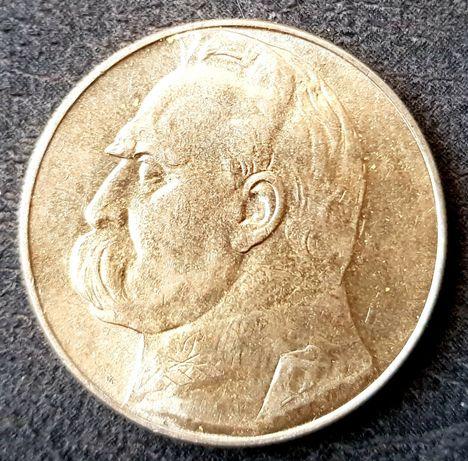 10 zł J. Piłsudski 1937r.igla