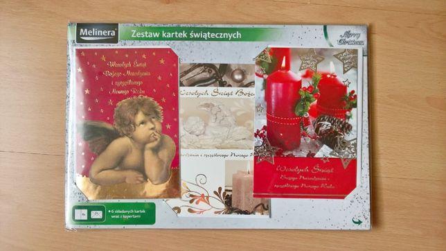Zestaw kartek świątecznych