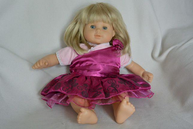 lalka bobas z włosami naturalnymi american girl 40cm śliczna