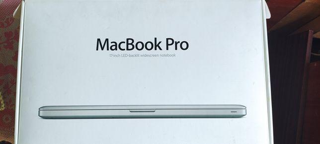 Macbook pro 17 2010