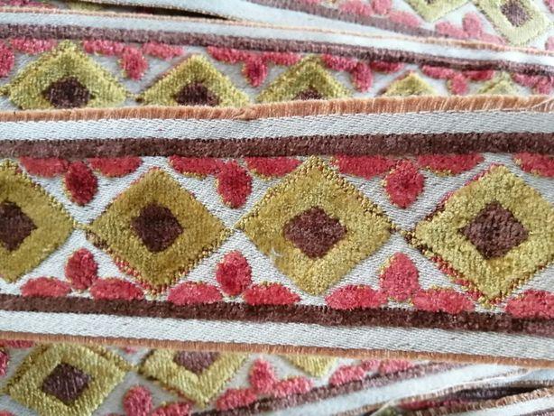 Galão fita de seda vintage Novo artesanato e DYI
