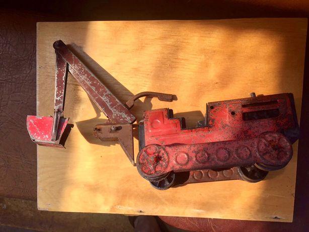 Металический «Трактор-эскаватор» ссср , под реставрации