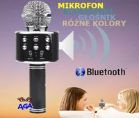 Mikrofon Karaoke Bluetooth Głośnik Akumulator