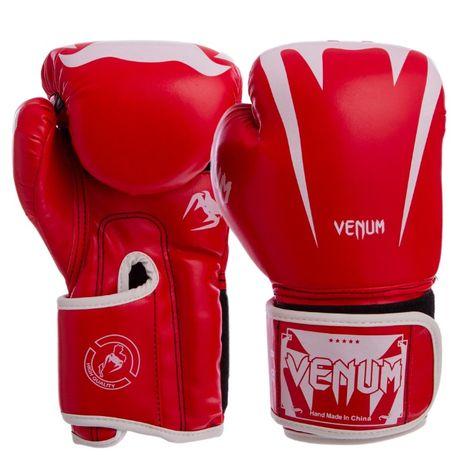 Перчатки боксерские Venum натуральная кожа, PU