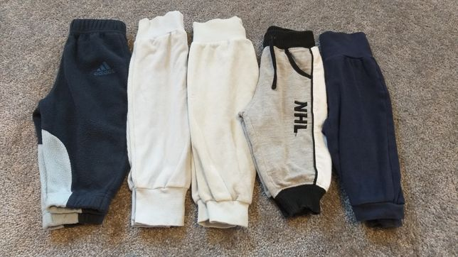 Spodnie, spodenki dresy r 68