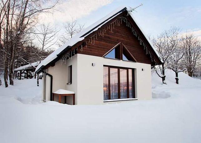 Domek w górach - piękny widok