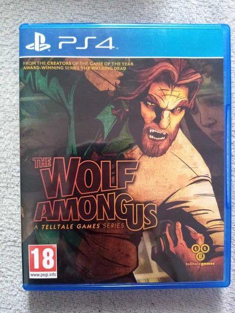 Gra The Wolf Among Us ps4 playstation 4 pro unikat