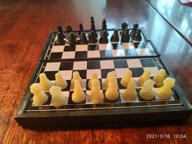 Шахматы магнитные дорожные