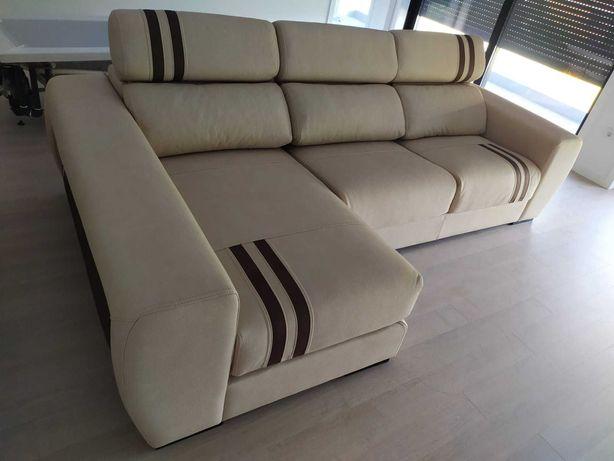 Sofá chaise long novo