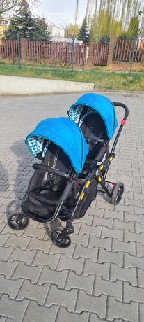 Wózek tandem dziecięcy