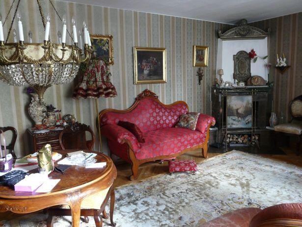 kanapa sofa stylowa antyczna elegancki salon antyk
