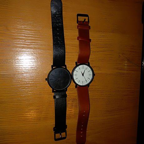 zegarek na SKÓRZANYM PASKU polecam tanio
