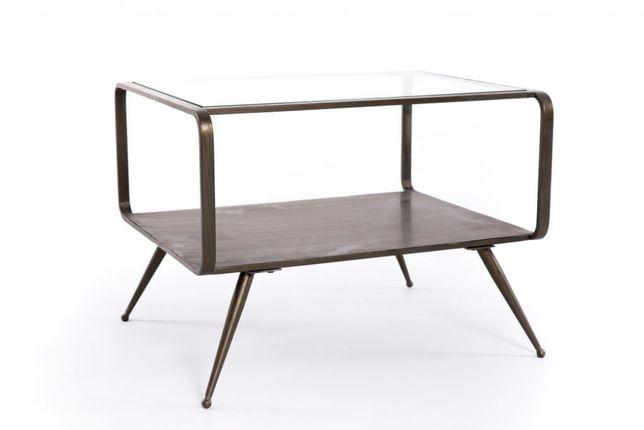 Mesa apoio metal dourado velho Side Table Old Gold- NOVO by OVO Home