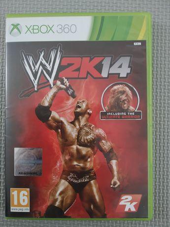 Gra W2K14 Xbox 360.