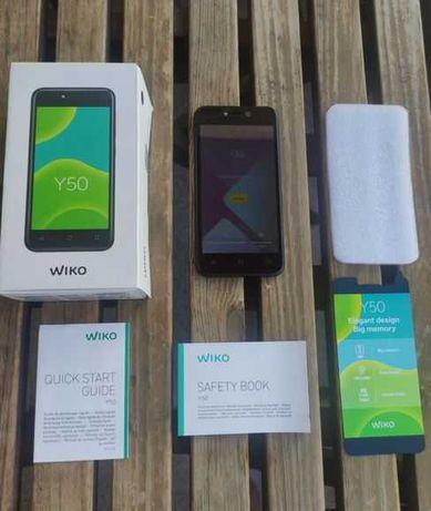 Smartphone Wiko Y50 - 16GB - Dark Grey - Como novo e a Excelente Preço