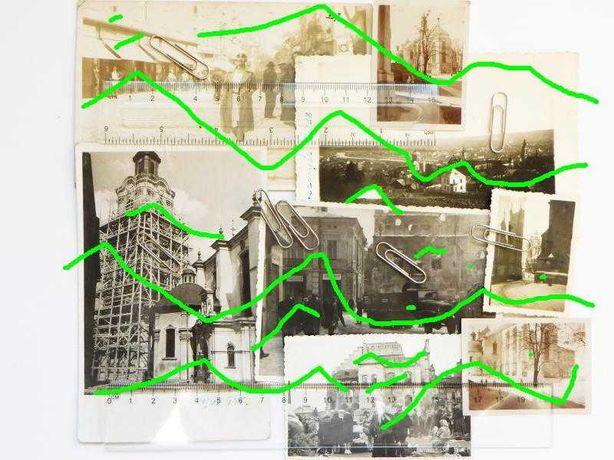 Przemyśl panorama katedra synagoga centrum stare zdjęcia moda