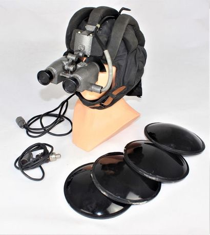 Óculos de Infravermelho - Com Capacete de Tanque