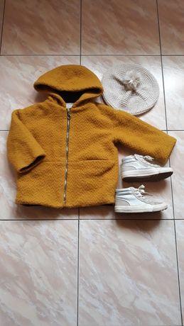 Zestaw Zara plaszczyk 104 beret buty gratis Zara