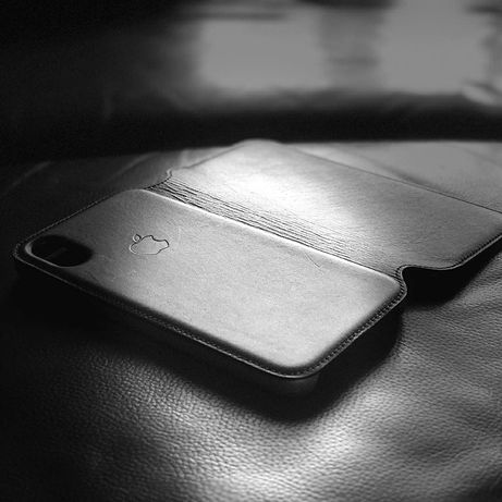 Кожаный чехол книжка iPhone 6S/7/8/Plus/X/XR/XS/11/Pro/Max folio case